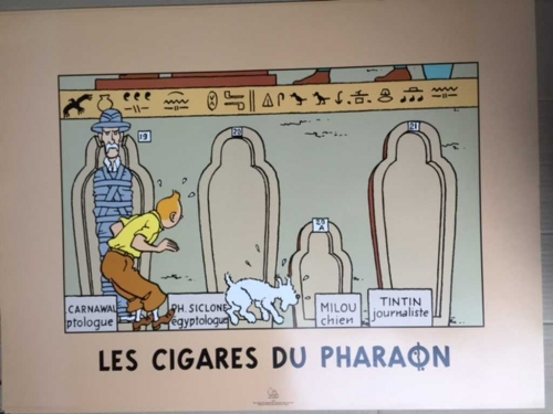 grand-poster-tintin-cigares-du-pharaon
